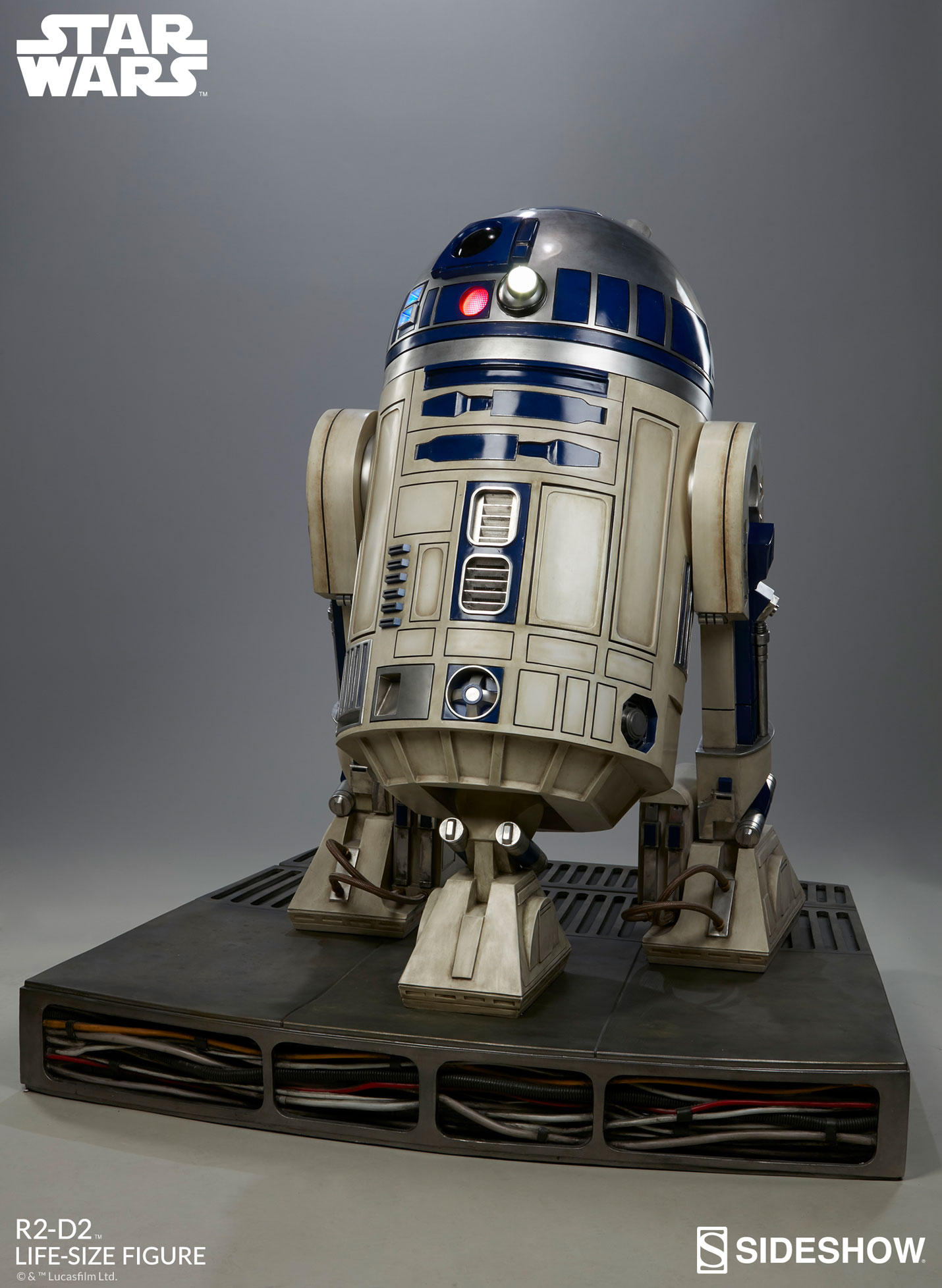 star wars r2 d2 life size figure by sideshow collectibles sideshow