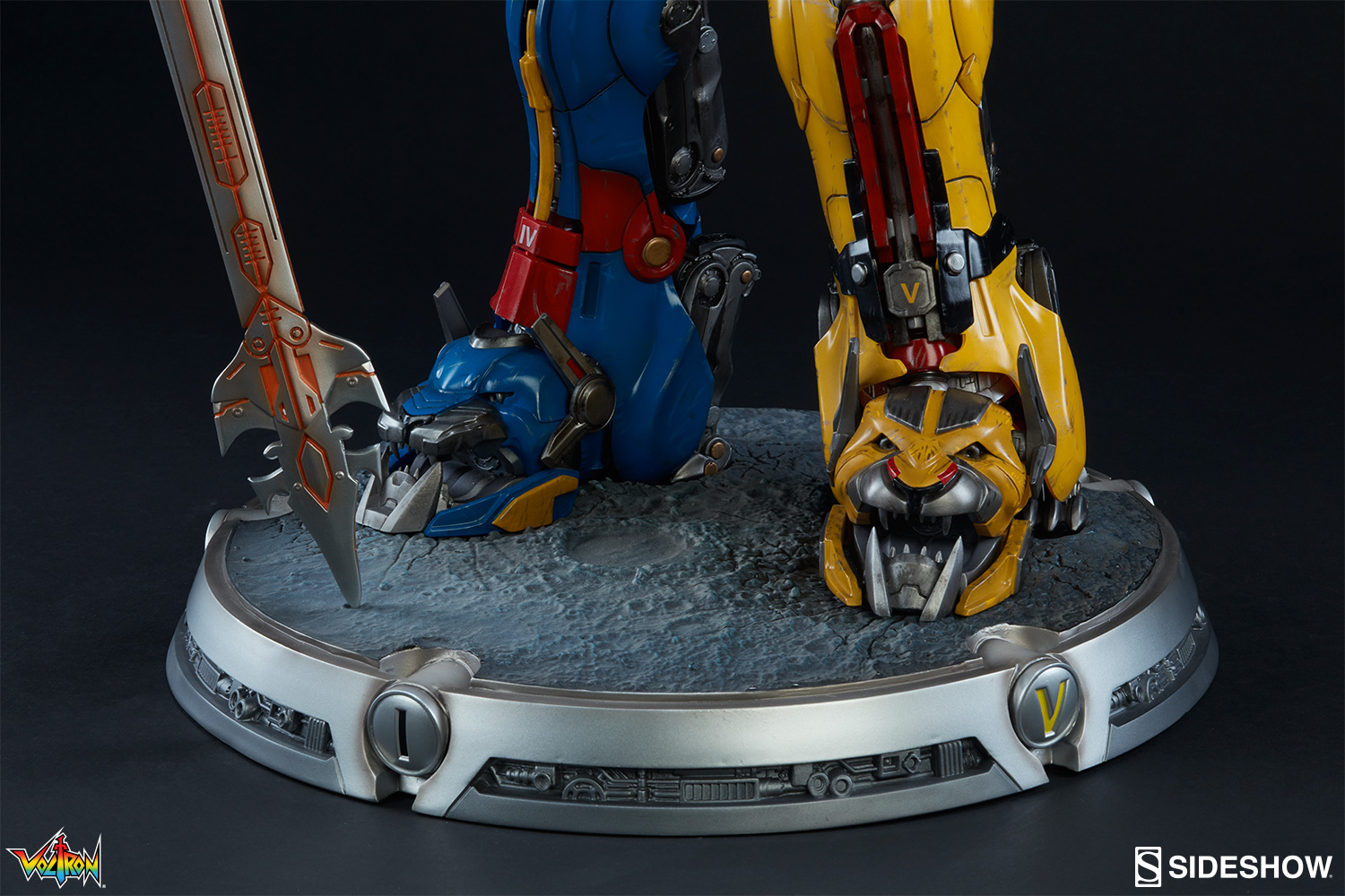 Voltron: Defender of the Universe Voltron Maquette by ... Voltron