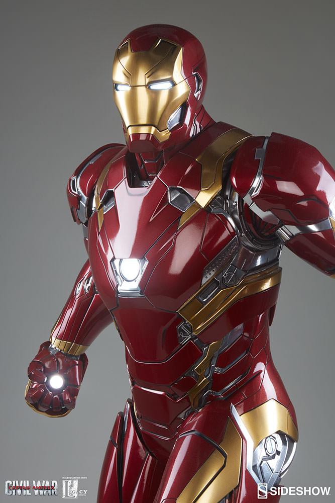 Iron Man Mk 46 Held Bild Idee
