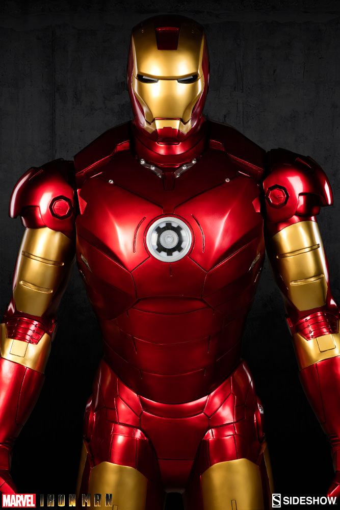 Marvel iron man mark iii life size figure by sideshow collec sideshow collectibles - Image de iron man ...