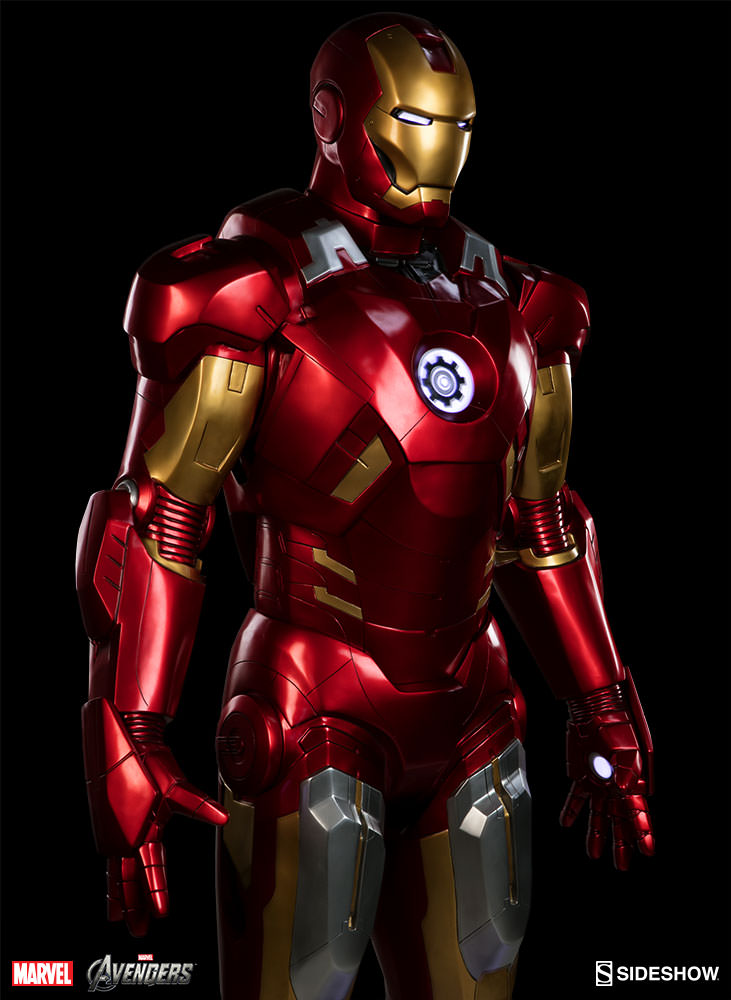 Marvel iron man mark vii life size figure by sideshow collec sideshow collectibles - Image de iron man ...