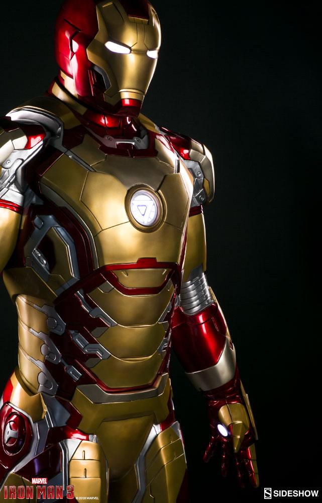Marvel Iron Man Mark 42 Life Size Figure By Sideshow