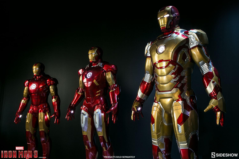 marvel iron man mark 42 lifesize figure by sideshow