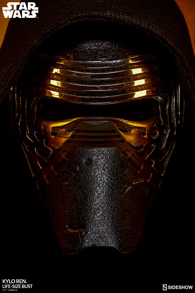 star wars kylo ren life size bust by sideshow collectibles sideshow collectibles. Black Bedroom Furniture Sets. Home Design Ideas