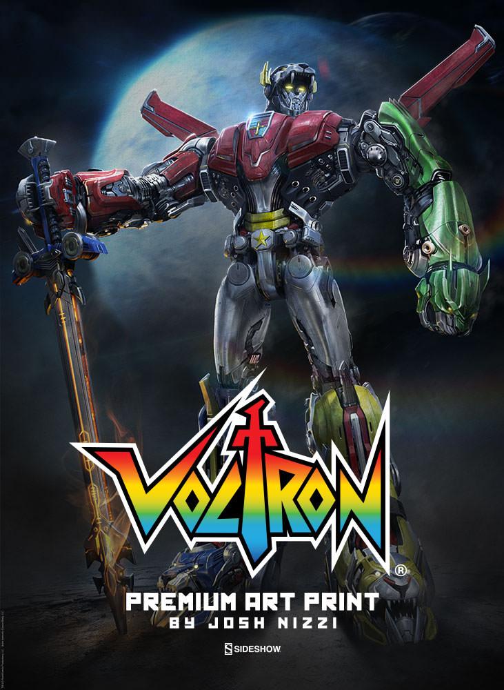 Sideshow Unveil Voltron Defender Of The Universe Premium