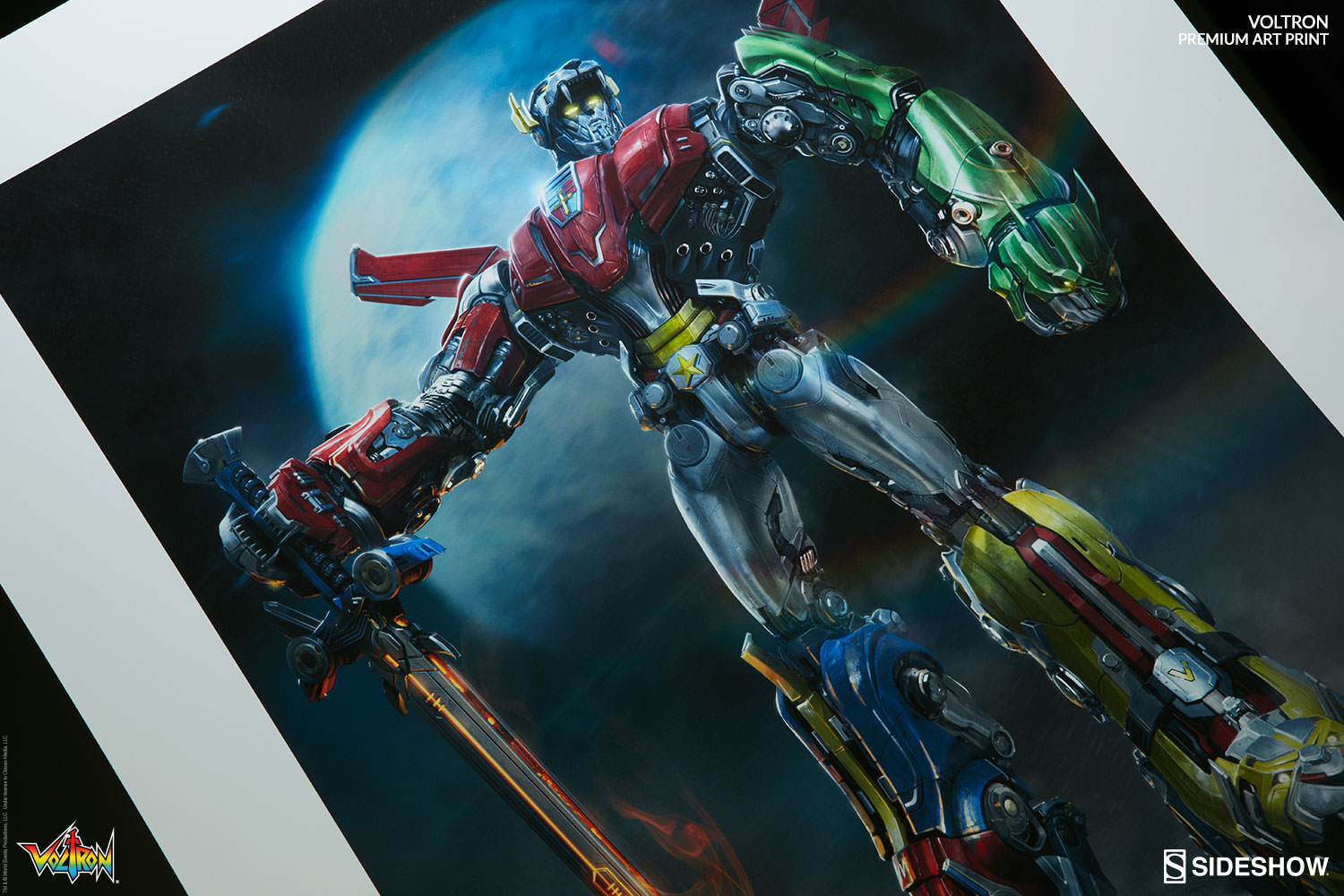 Sideshow Unveil Voltron Defender Of The Universe Premium