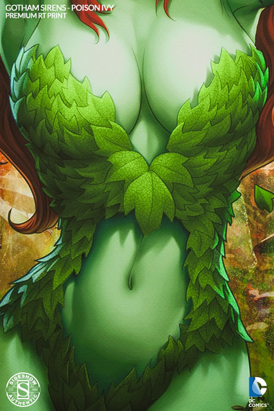 Dc Comics Gotham Sirens Poison Ivy Premium Art Print By