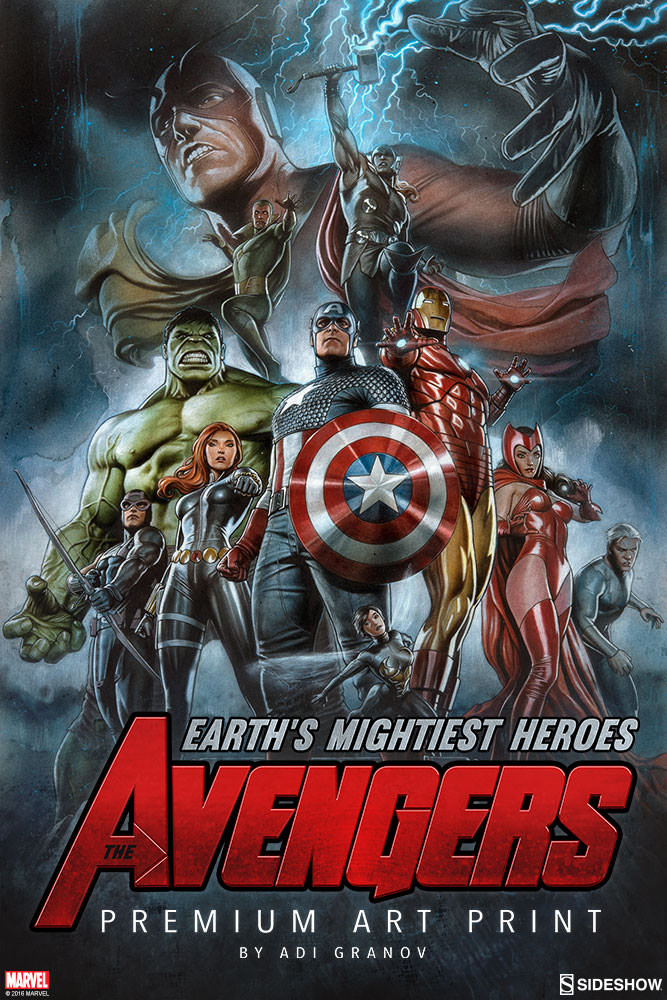 The avengers earth 39 s mightiest heroes sideshow collectibles - Heros avengers ...