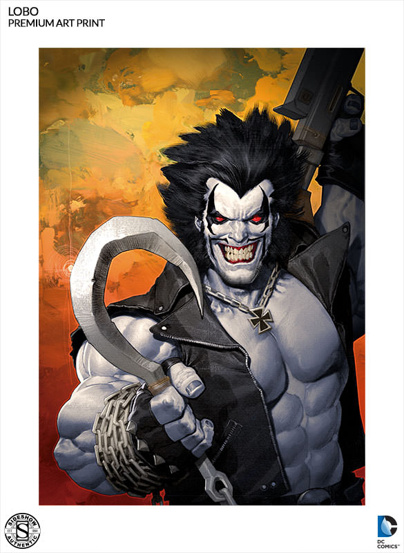 DC Comics Lobo Premium Art Print by Sideshow Collectibles | Sideshow ...