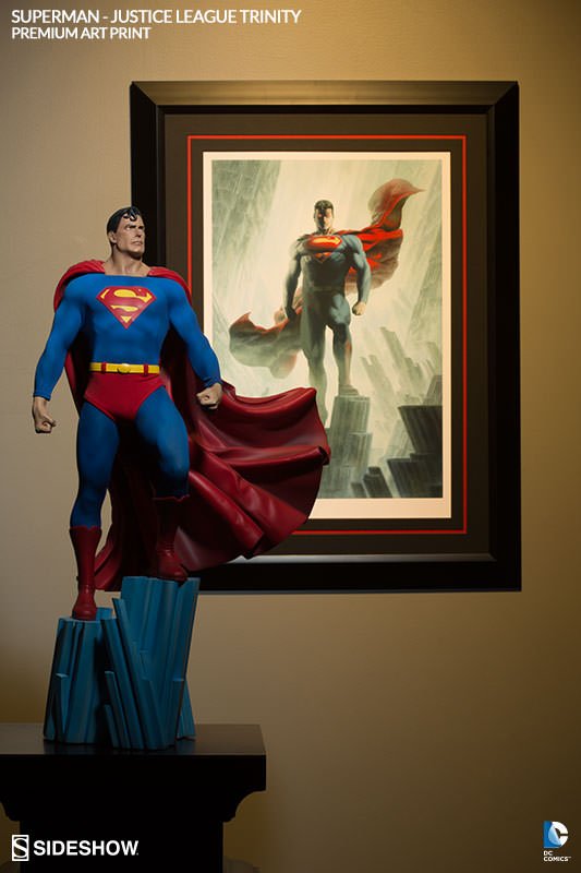 Superman Art Print Poster Sideshow Collectibles