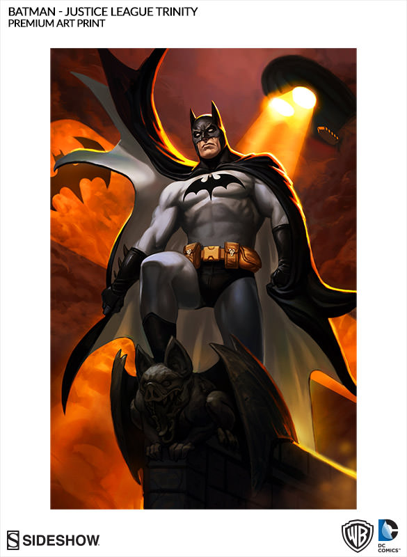 Batman Art Print Art Print · Batman