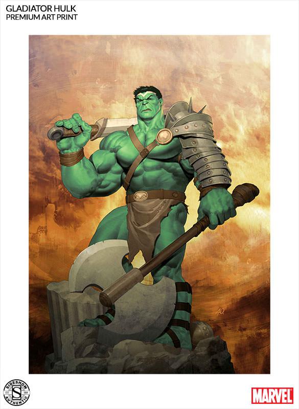 [Sideshow] Premium Art Print: King Hulk 500287-king-hulk-002