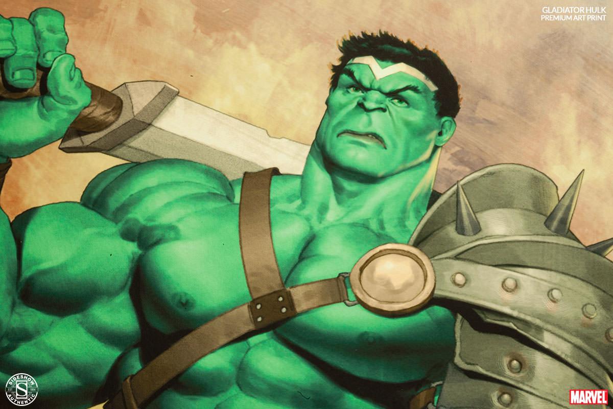 [Sideshow] Premium Art Print: King Hulk 500287-king-hulk-003