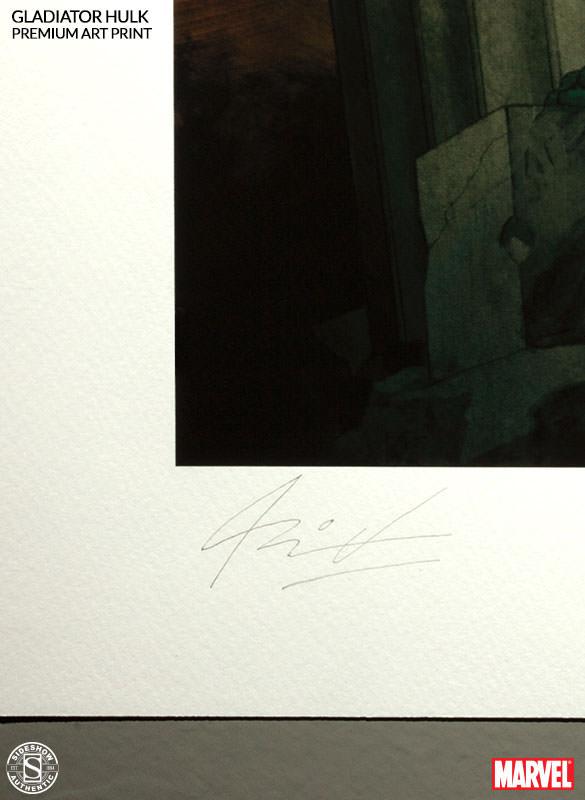 [Sideshow] Premium Art Print: King Hulk 500287-king-hulk-004
