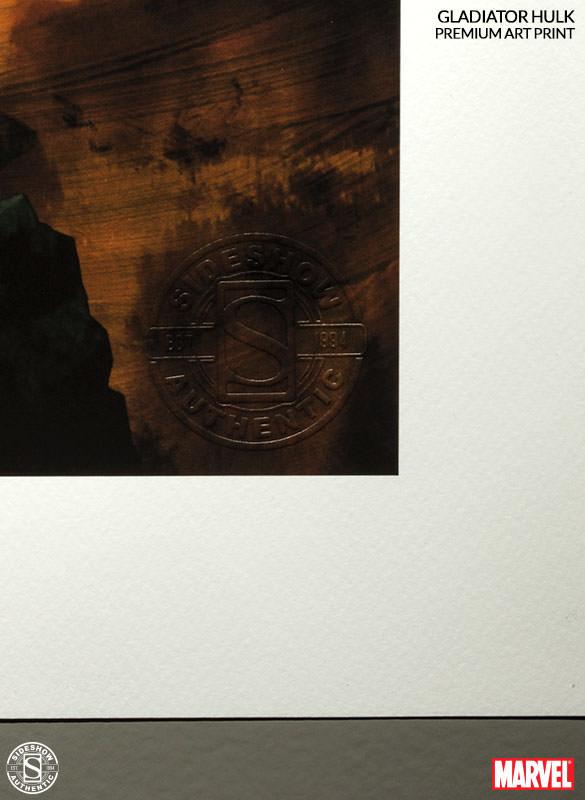 [Sideshow] Premium Art Print: King Hulk 500287-king-hulk-005