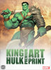 King Hulk Art Print