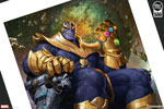 Thanos on Throne Variant Art Print