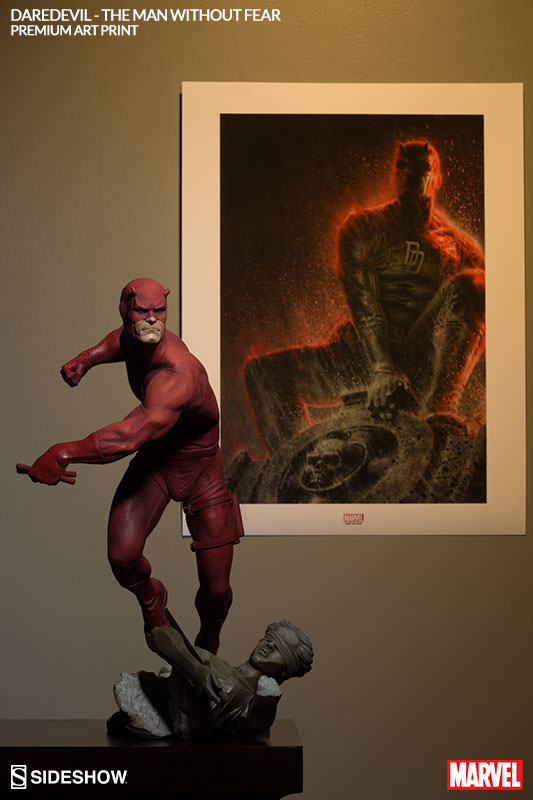 [Sideshow] Daredevil Premium Art Print 500296-daredevil-the-man-without-fear-003
