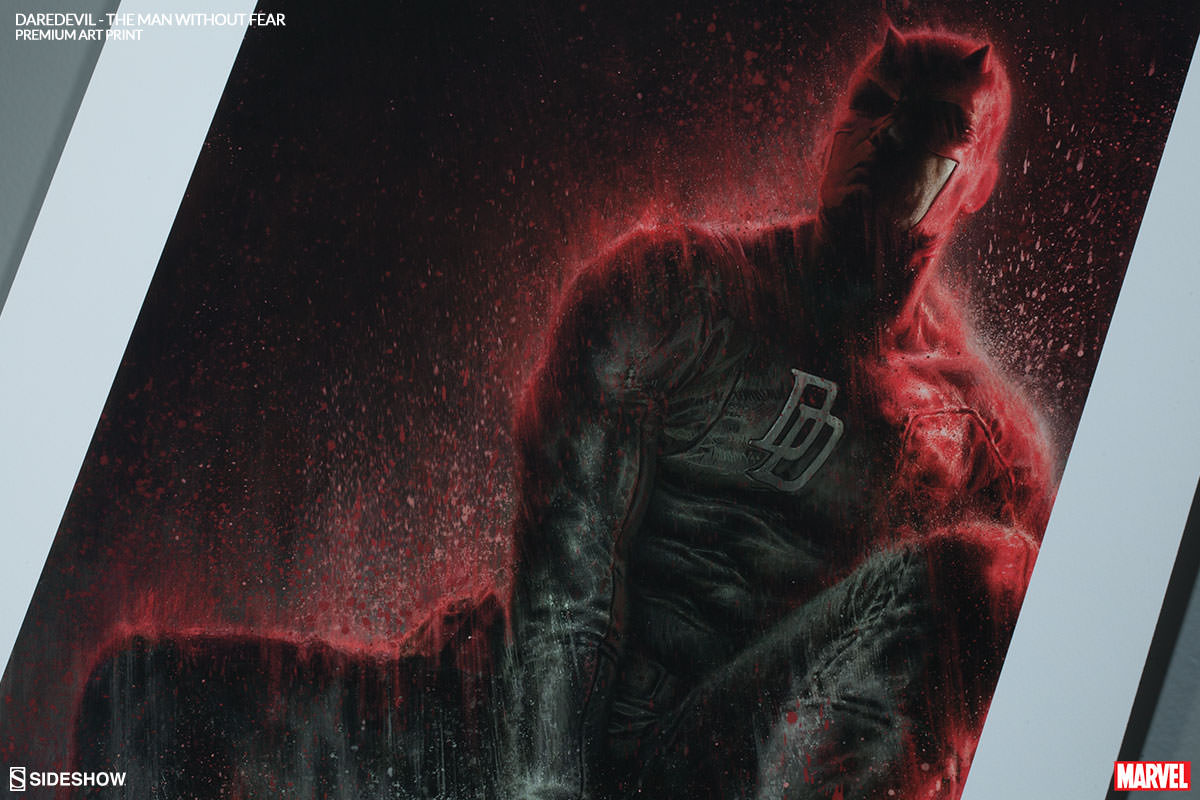[Sideshow] Daredevil Premium Art Print 500296-daredevil-the-man-without-fear-004