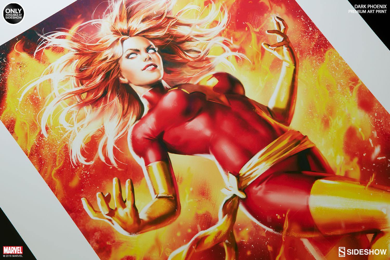 marvel dark phoenix premium art print by sideshow