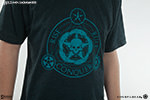 Unsettled Union Black-Aqua T-Shirt Apparel