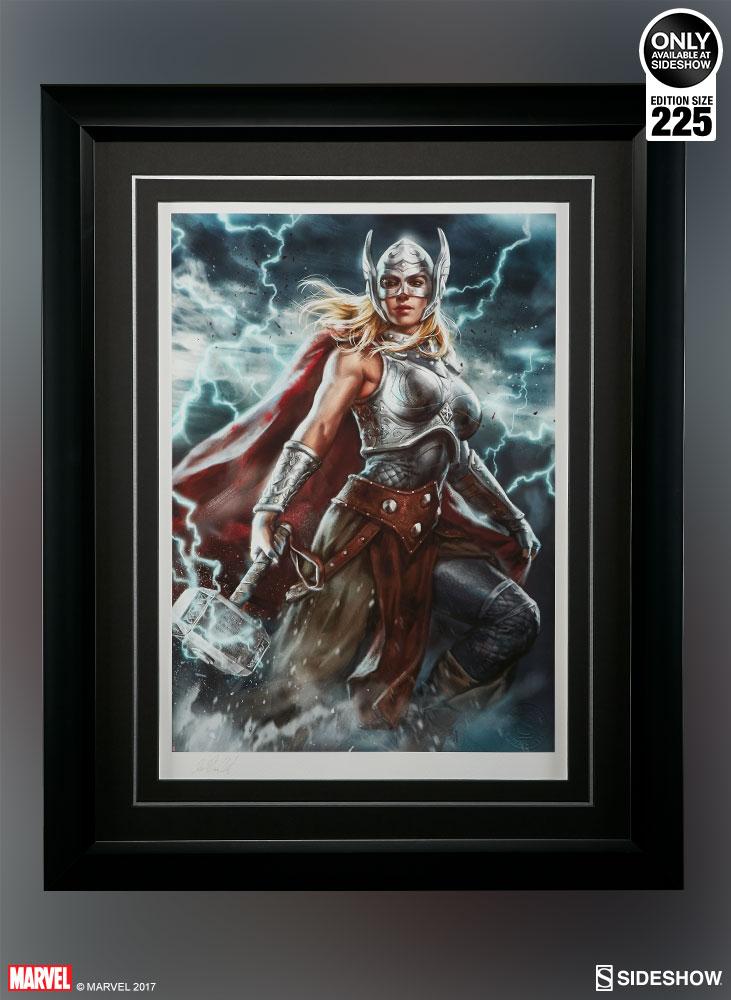 Marvel Thor Jane Foster Premium Art Print By Sideshow