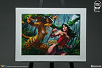 Wonder Woman vs Cheetah Art Print
