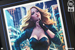 Black Canary Birds of Prey Art Print