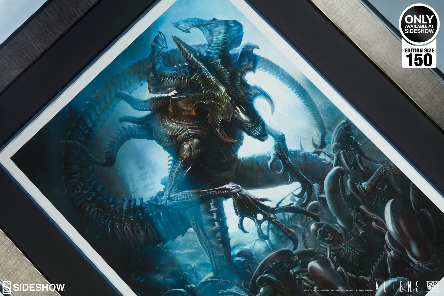 Alien Alien King Art Print By Sideshow Collectibles