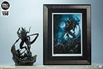 Alien King Art Print