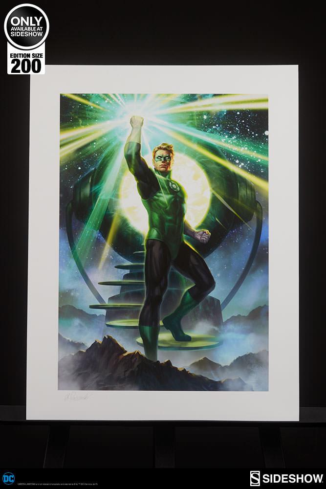 DC Comics Green Lantern Art Print by Sideshow Collectibles ...