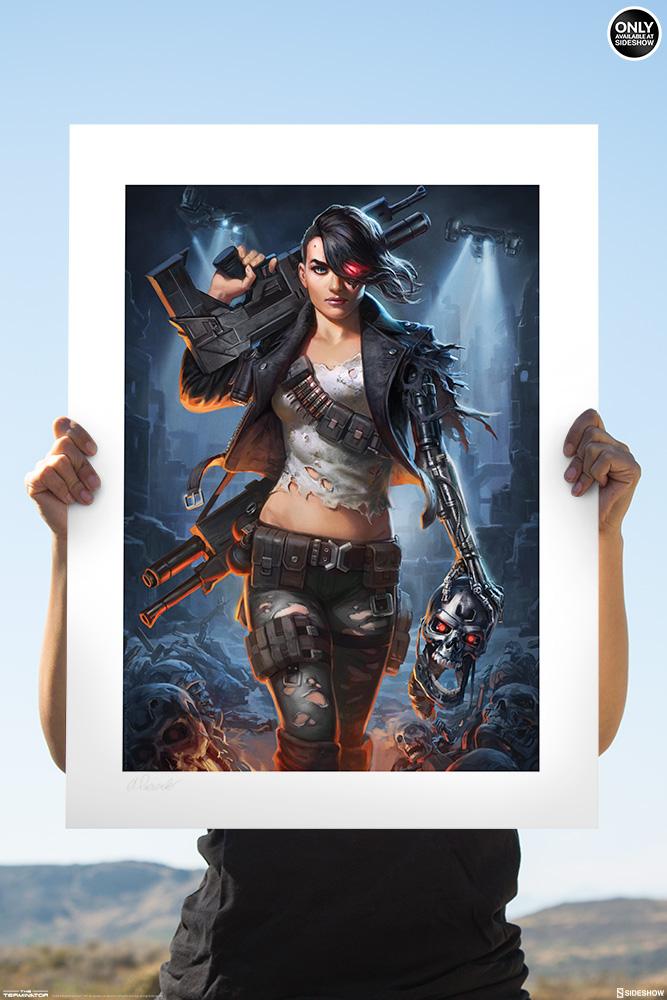 Terminator Rebel Terminator Art Print By Sideshow
