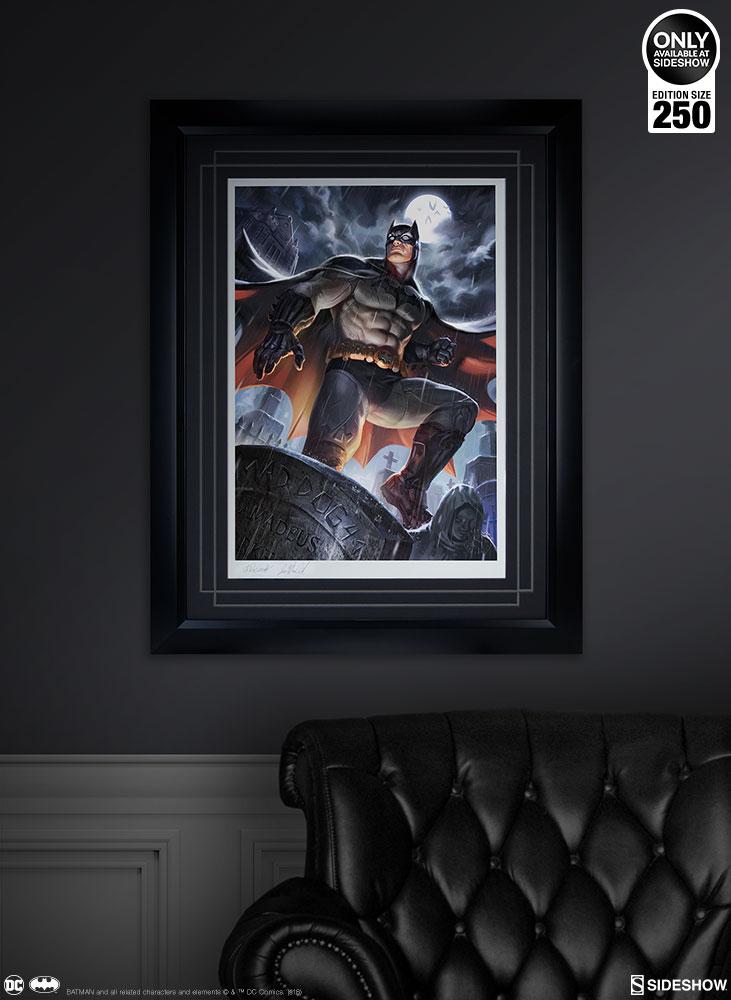 Dc Comics Batman Art Print By Sideshow Collectibles