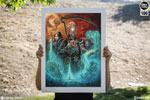 The Underworld United Art Print