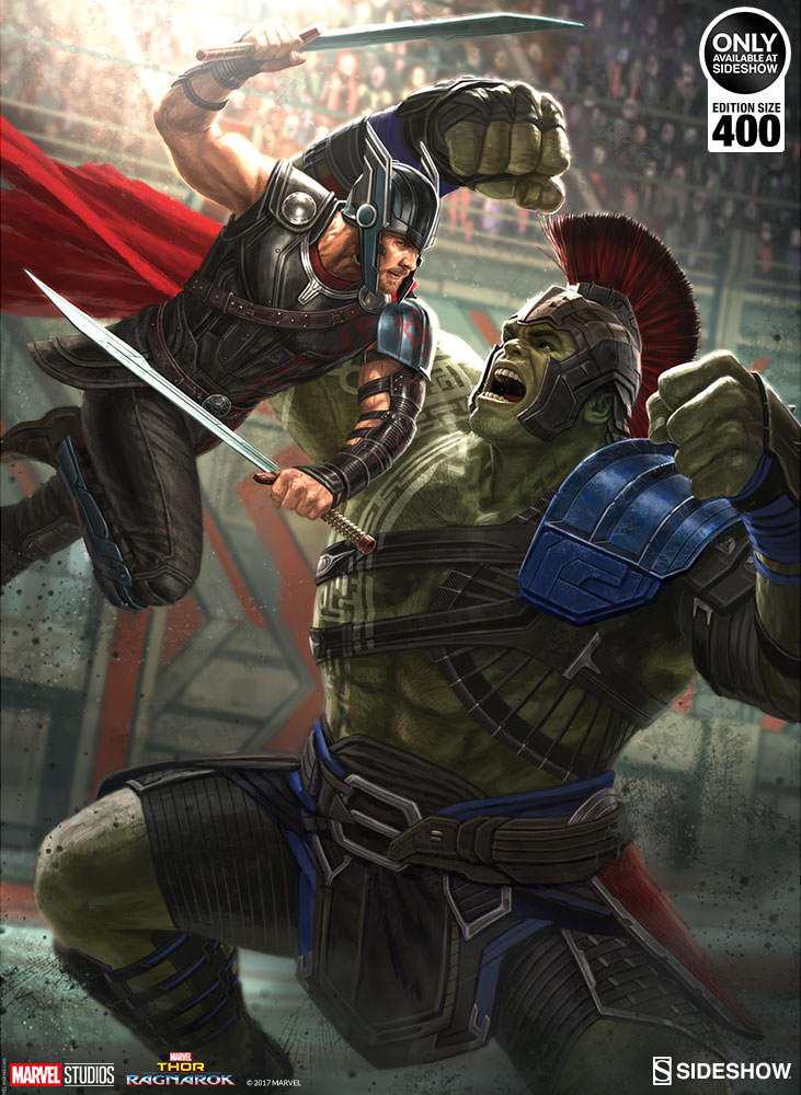 Marvel Thor Ragnarok Art Print By Sideshow Collectibles