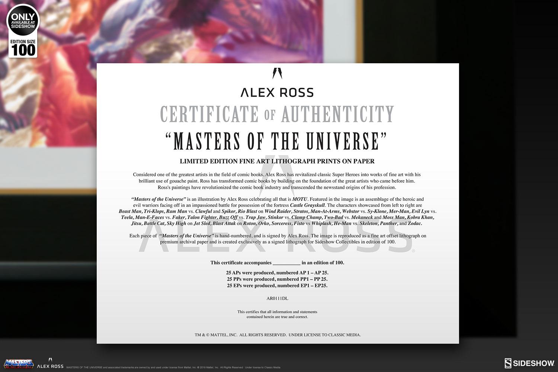 Masters of the Universe Masters of the Universe Art Print by ...