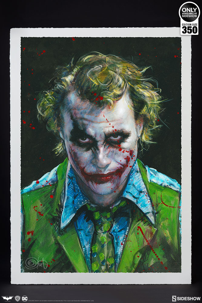 Dc Comics Why So Serious Art Print By Ozone Productions