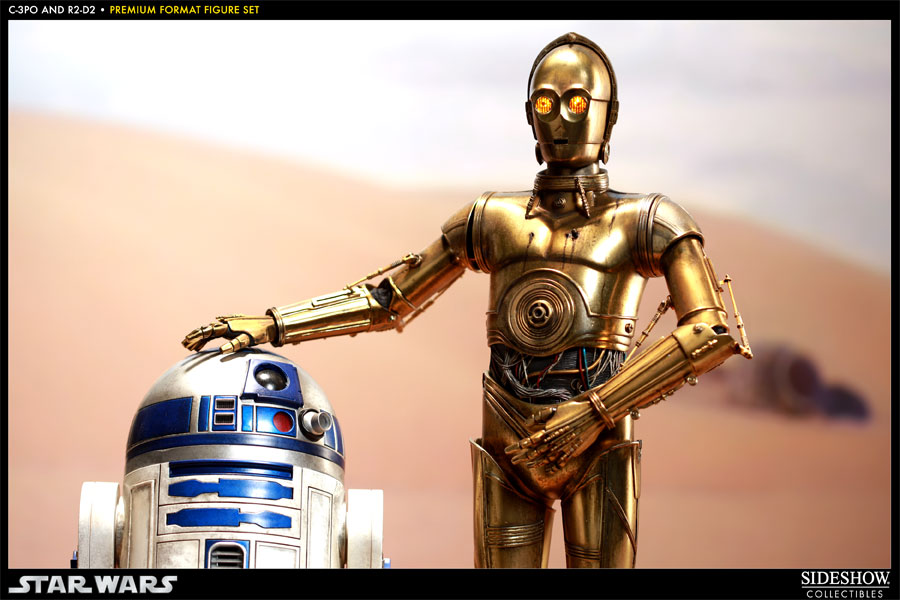 Star Wars R2D2 C 3PO Ralph McQuarrie Wallpaper
