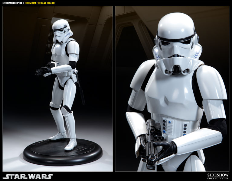 star wars stormtrooper premium format figure by sideshow col sideshow collectibles. Black Bedroom Furniture Sets. Home Design Ideas