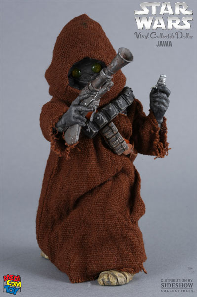 Star Wars Jawa Vinyl Collectible By Medicom Toy Sideshow