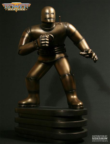 marvel original iron man polystone statue by bowen designs. Black Bedroom Furniture Sets. Home Design Ideas
