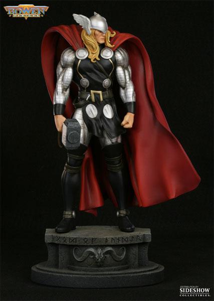 Marvel Thor Modern Museum Polystone Statue By Bowen