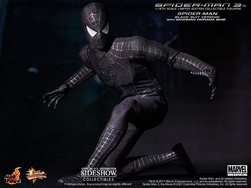 The amazing spider man black suit - photo#23