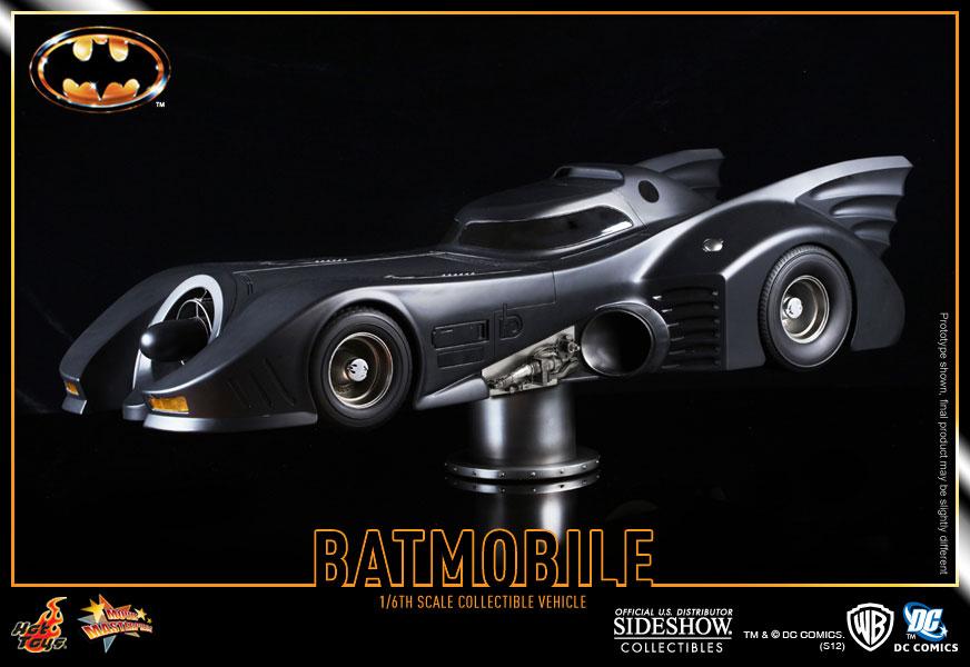 Batmobile Toy Model Hot Toys Batmobile 1989