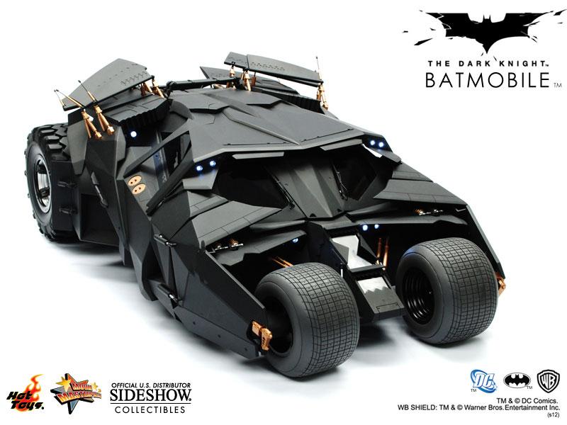 dc comics batmobile tumbler sixth scale figure related. Black Bedroom Furniture Sets. Home Design Ideas