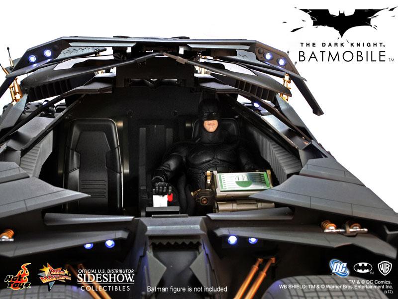 Batmobile Dark Knight Hot Toys Hot Toys Batmobile