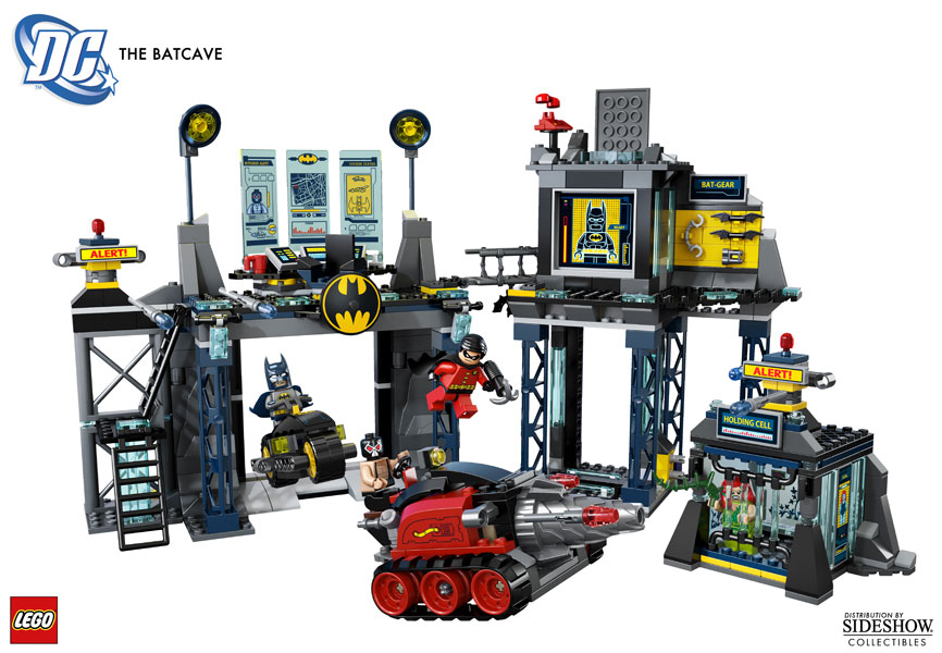 Dc Comics The Batcave Legor Toys By Lego R Sideshow Collectibles