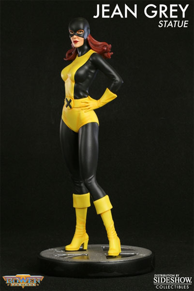 marvel jean grey marvel girl original polystone statue by