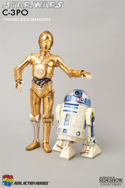 R2d2 And C3po Toys : Star wars c po collectible figure by medicom toy