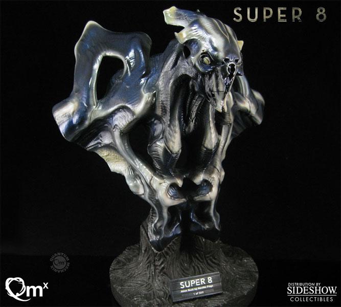 Super 8 Super 8 Alien Collectible Bust by Quantum Mechanix ... |Super 8 Alien Design